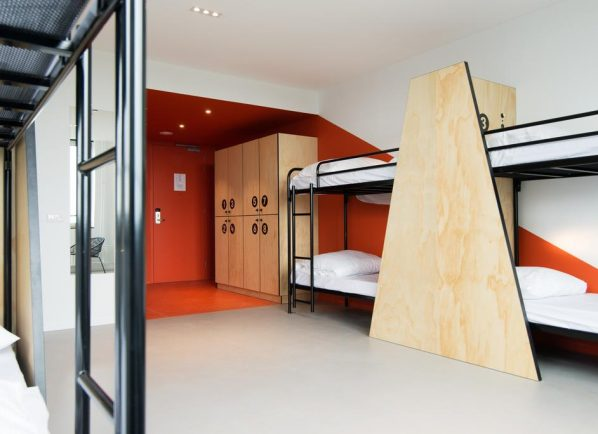 8-bed dormitory in Via Amsterdam