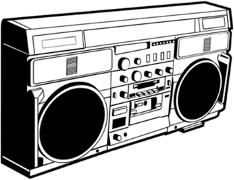 boombox larger
